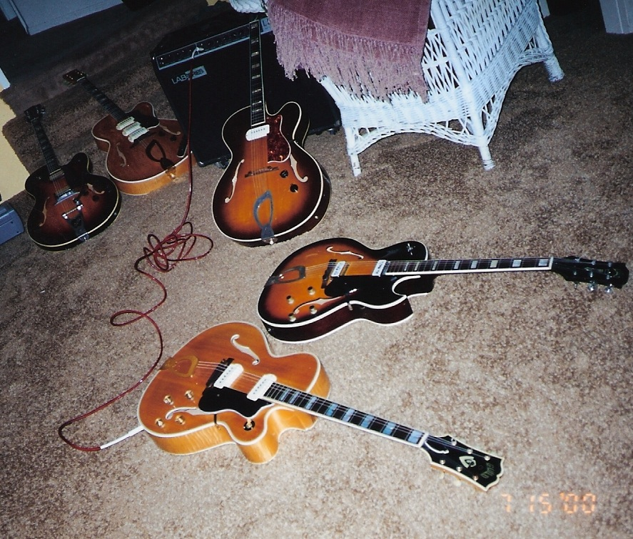 Choosing Which Guitar to Play Ted Greene Archive